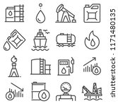 industry oil linevector icon... | Shutterstock .eps vector #1171480135