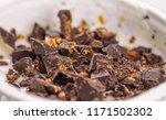 close up of white yogurt and...   Shutterstock . vector #1171502302