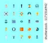 human vector icons set.up ... | Shutterstock .eps vector #1171516942