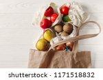 zero waste food shopping. eco...