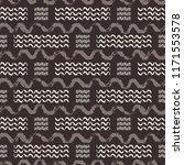 vector brown and beige hand... | Shutterstock .eps vector #1171553578