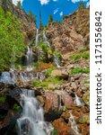 Silver Falls Near Pagosa Springs Colorado