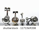 Crankshaft Of Motorcycle Engine