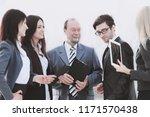close up.a business team... | Shutterstock . vector #1171570438