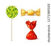 vector swirl spiral lollipop ...   Shutterstock .eps vector #1171589335