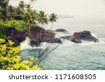 coast of the small island... | Shutterstock . vector #1171608505