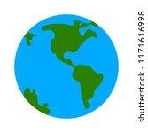 globe icon  earth planet  ...   Shutterstock .eps vector #1171616998