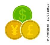 vector money exchange  money... | Shutterstock .eps vector #1171618528