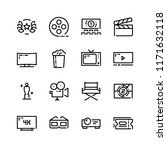 movies vector illustration icon ... | Shutterstock .eps vector #1171632118