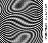 curve random chaotic lines...   Shutterstock .eps vector #1171646125