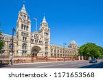 facade view of natural history... | Shutterstock . vector #1171653568