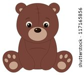 brown teddy bear | Shutterstock . vector #117165856