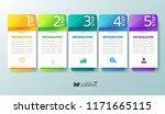 infographics design template ...   Shutterstock .eps vector #1171665115