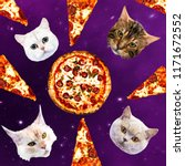 Cats In Space Pizza....