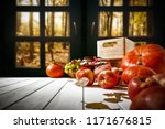 table background and window of... | Shutterstock . vector #1171676815