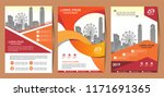 vector design for cover  layout ... | Shutterstock .eps vector #1171691365