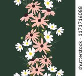 vector seamless illustration... | Shutterstock .eps vector #1171716088