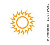 weather forecast icon  sun... | Shutterstock .eps vector #1171719262