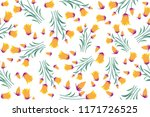 floral pattern design   this... | Shutterstock .eps vector #1171726525