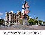 spain  barcelona  street scene... | Shutterstock . vector #1171728478