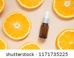 natural vitamin c serum ... | Shutterstock . vector #1171735225