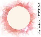 round frame pink digital... | Shutterstock . vector #1171741768