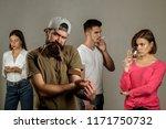 stop drug addiction....   Shutterstock . vector #1171750732