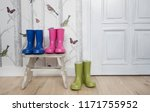 3 pairs of colourful... | Shutterstock . vector #1171755952