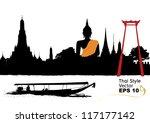 vector of thailand   Shutterstock .eps vector #117177142