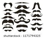 moustache mustache icon... | Shutterstock .eps vector #1171794325