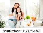 charming adorable attractive... | Shutterstock . vector #1171797052