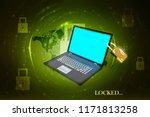 3d rendering safety concept ... | Shutterstock . vector #1171813258