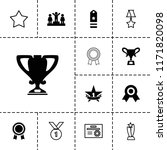 award icon. collection of 13...   Shutterstock .eps vector #1171820098
