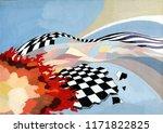 illustration of an...   Shutterstock . vector #1171822825