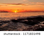 picturesque sunset over the... | Shutterstock . vector #1171831498