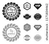 money back guarantee  vip ... | Shutterstock .eps vector #1171834462