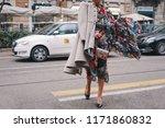 milan  italy   february 24 ... | Shutterstock . vector #1171860832