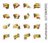 grenada flag  vector... | Shutterstock .eps vector #1171869052