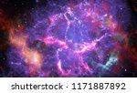 image of the nebula in deep... | Shutterstock . vector #1171887892
