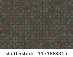 beautiful  vintage pattern... | Shutterstock .eps vector #1171888315