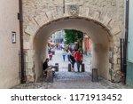 riga  latvia   august 19  2016  ... | Shutterstock . vector #1171913452