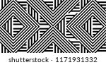 seamless pattern with striped... | Shutterstock .eps vector #1171931332