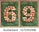 number 69  sixty nine  made of... | Shutterstock . vector #1171931908