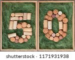 Number 50 Fifty  Made Of Wine...