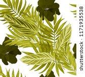 watercolor seamless pattern...   Shutterstock . vector #1171935538