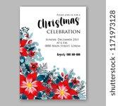 floral background for wedding... | Shutterstock .eps vector #1171973128
