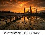 masjid tengku ampuan jemaah ...   Shutterstock . vector #1171976092