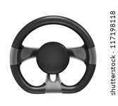 futuristic steering wheel... | Shutterstock . vector #117198118