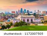 kansas city  missouri  usa... | Shutterstock . vector #1172007505