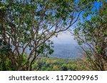 beautiful sunset at mountain...   Shutterstock . vector #1172009965